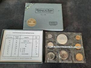 coffret fdc 1972 avec 10 francs hercule en argent