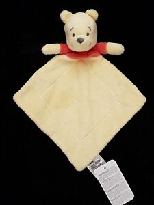 MOTHERCARE Disney Winnie the Pooh Doudou Soother Blanket Comforter Soft Toy New