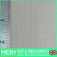 Kanthal (FeCrAl Alloy) Woven Mesh (18 LPI x 0.42mm Wire = 1mm Hole) A5 Sheet