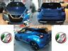 modanature paraurti anteriore+posteriore+laterale argento/cromo Nissan Micra 17>
