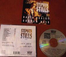 STEPHEN STILLS featuring D.Crosby & G.Nash- CD- Duchesse 1991- 16 tracce