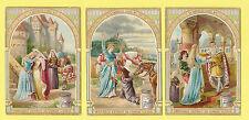 LIEBIG - RARE SET OF 6 CARDS -  S 783  /  F 779  -  THE  GOOSE  GIRL  -  1904