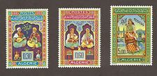 Algeria Scott 341-343 Mint Hinged,  Musicians, Set of 3, SCV 18.25