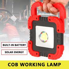 50W COB LED Arbeitsleuchte Akku Werkstattlampe Camping Flutlicht Handlampe NEU
