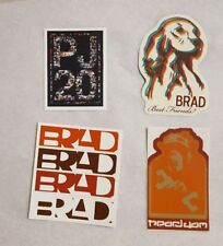 Pearl Jam Brad Sticker Set with PJ20 Sticker not poster hoodie pin or t-shirt