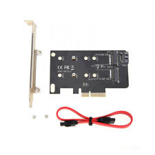 Simplecom EC412 Dual M.2 to Pci-e X4 and SATA Expansion Card