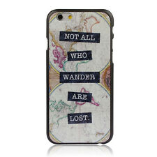 Hot Map Hard Back Plastic Case Cover Skin For iPhone 6 4.7 Inch Крышка корпуса