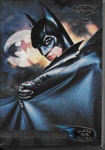 BATMAN FOREVER FLEER-ULTRA 1995 COMPLETE 120 TRADING CARD SET MINT