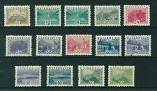 Austria 1932 Landscapes full set of stamps. Mint. Sg 678 -691
