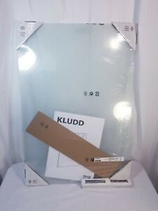 NEW vintage IKEA Glass Notice Board KLUDD for Homeschooling Home Office 25x17