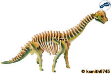 Pie Pequeño 55 piezas de madera 3D dinosaurio Brachiosaurus puzzle de juguete Animal Rompecabezas