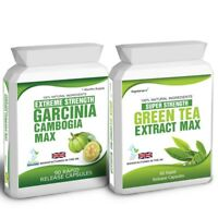 90 Garcinia Cambogia & Green Tea Extract Plus Free Weight Loss Dieting Tips
