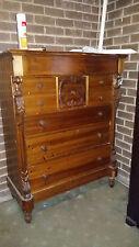 Scottish 8 drawer chest of drawers suit restoration
