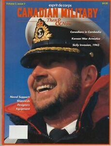 Esprit de Corps Canadian Military Then & Now July 1993 - Korean War / Sicily +++