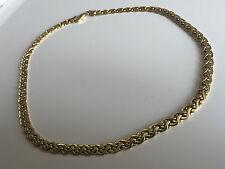♛ Handarbeit   ♛ Kette Designer  ♛ Gold farbe vintage  60er 70er Collier 38gramm