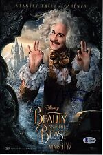 STANLEY TUCCI SIGNED BEAUTY AND THE BEAST 8X12 PHOTO! AUTOGRAPH! DISNEY! BAS PSA