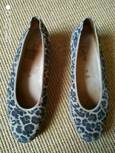 Gabor Shoes - size 6.5 - leopard print