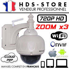 WANSCAM HW0028 KAMERA IP WIFI NETZWERK PTZ ZOOM X3 HD 720P BIS' ZU 256 GB ONVIF