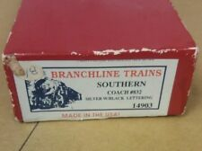 Branchline Trains HO Scale # 14903 Southern Coach # 832