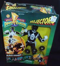 *NEW* 1995 ToyBiz Mighty Morphin Power Rangers Projectors Black Ranger # 51002
