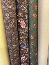 5 fat quarters Moda Etc Autumn Colours , Crafts , Quits, Bags