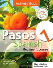 Pasos 1: Activity Book , Coursebook: Spanish Beginner's Course By Rosa Maria Ma