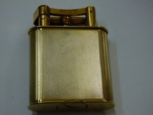 Rare Gold Plated Dunhill Unique Table Lighter