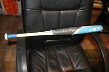 "New 29"" Easton Fs3 Fp16S312 Fastpitch Softball Bat White Blue 2016 (-12)"