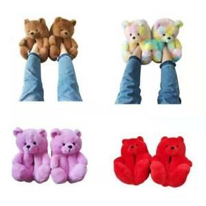 Teddy bear slippers!!  #TIKTOK #INSTAGRAM  #COZY #PLUSH #girly