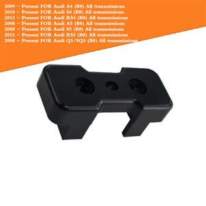 034 Transmission Mount Insert Billet Aluminum For B8 Chassis Models Black