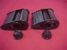 """Vintage 7/16"""" Black Air Flow Tricycle Pedals Elgin Colson Murray Huffy Amf nos"""