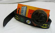 Justice League of America Belt-DC Comics-Men 's XL 43-Taille 49-Bnwt