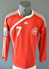Denmark Football Long Sleeve Womens Jersey Shirt Fifa Qualifiers 2011 Size L