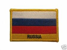 Russia Embroidered Flag patch-Iron on orSew