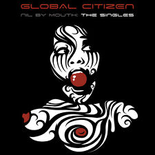 """GLOBAL CITIZEN: NIL BY MOUTH THE SINGLES Limited Edition RED 12"""" Vinyl Record"""