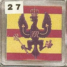 Acrylic Military Key Ring   Kings Royal Hussars