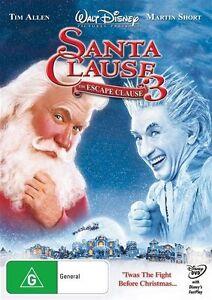 Santa Clause 3 - The Escape Clause DVD Tim Allen Martin Short