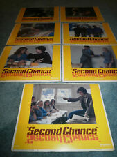 SECOND CHANCE(1978)LOT OF 7 DIFFERENT LOBBY CARDS