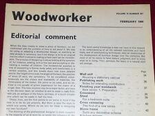 WOODWORKER - CROSS VENEERING - Feb 1966 Vol 70 # 867