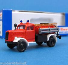 Roco H0 1398 OPEL BLITZ TLF 15 Feuerwehr Tanklöschfahrzeug OVP HO 1:87