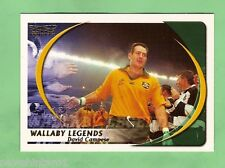 2003 WALLABY LEGENDS RUGBY UNION CARD - WL1  DAVID CAMPESE