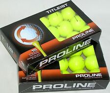 30 Titleist NXT Tour S Yellow golf balls Grade AAAAA