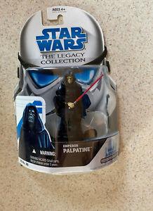 STAR WARS LEGACY (2008) -- Emperor Palpatine BD39 AF -- Droid Factory -- On Card