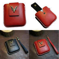 Leather Phone Storage Bag Protective Case Cover for Samsung Galaxy Z Flip Phone