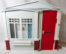 Mattel Barbie 2005 Totally Real Fold Up  Doll house w/ Sounds Doorbell Toilet