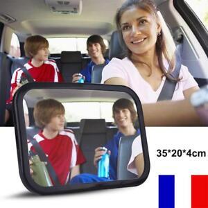 35*24CM Siège voiture de sécurité réglable miroir vue arrière pour enfant bébé