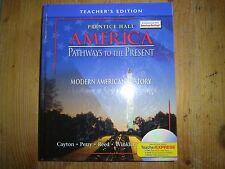 Prentice Hall America, Pathways to the Present, Modern American Hist. Teacher Ed
