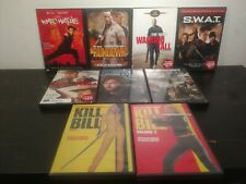 Lot Of 9 Action Movies On Dvd Kill Bill Jarhead The Rock