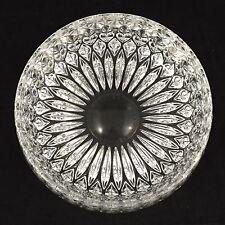 Antique Large Heavy Lead Crystal Bowl Superb Fantastically Amazing Dream Piece