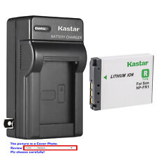 Kastar Battery Travel Charger for Sony NP-FR1 Sony Cyber-Shot DSC-P150/S Camera